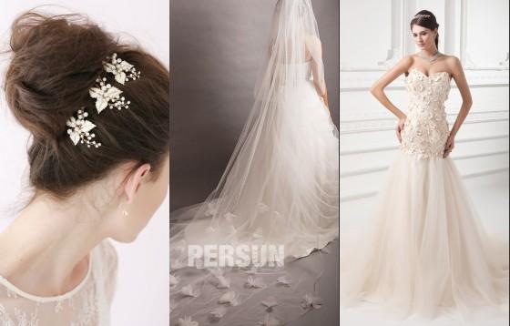 accesoires / voile / robe de mariage