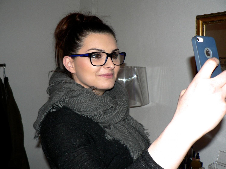 …..og, ingen god make-up, uden et selfie