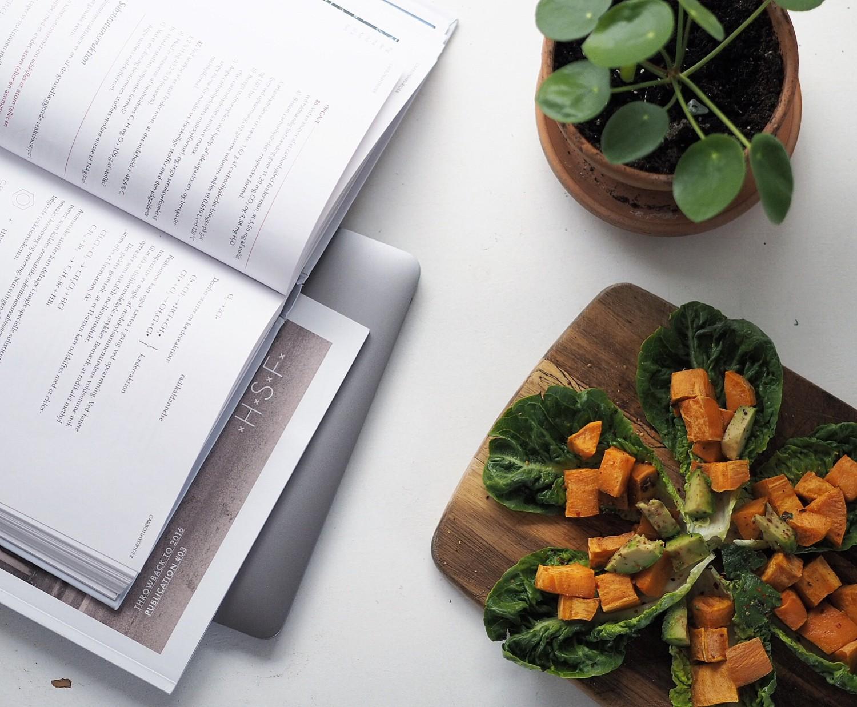 Vegan frokost sweet potato