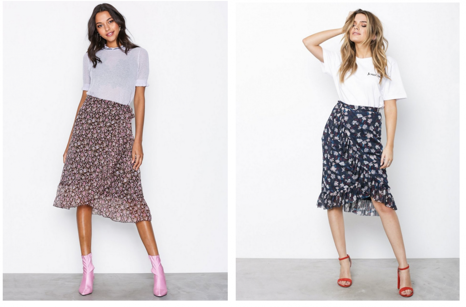 Nelly wrap skirts