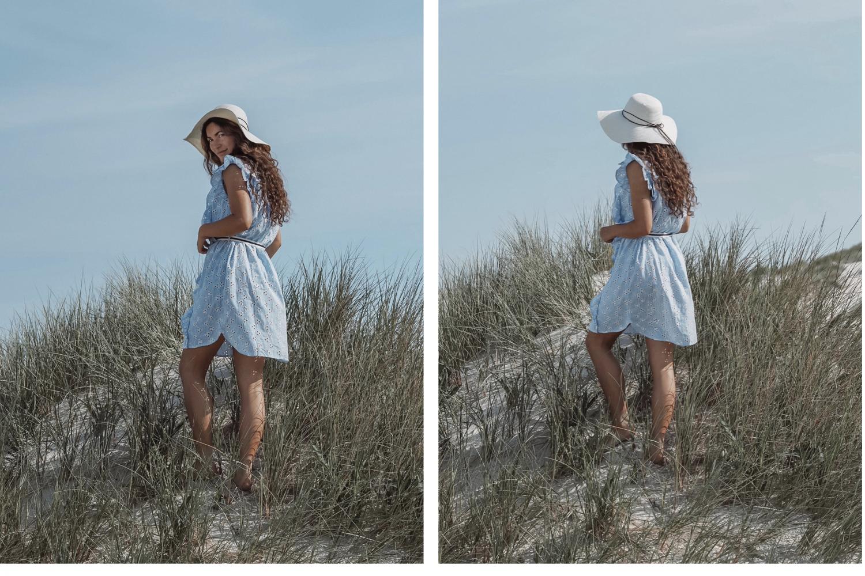 Beck Sondergaard Blue dress