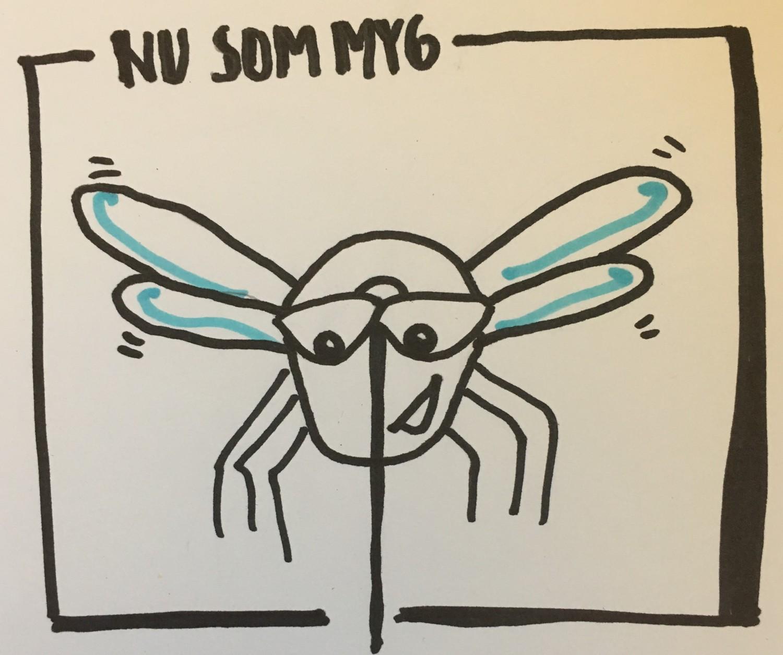 nu som myg