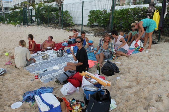 Og mere hygge på stranden