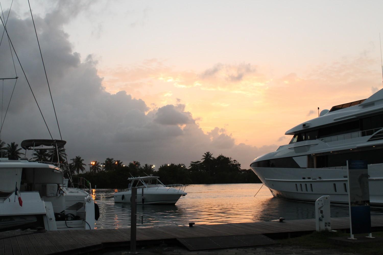 Et lille kig til den meget vilde super yacht...