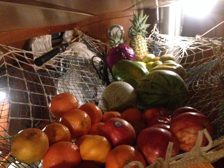 Frugt og grønt til 5 uger i nettet...