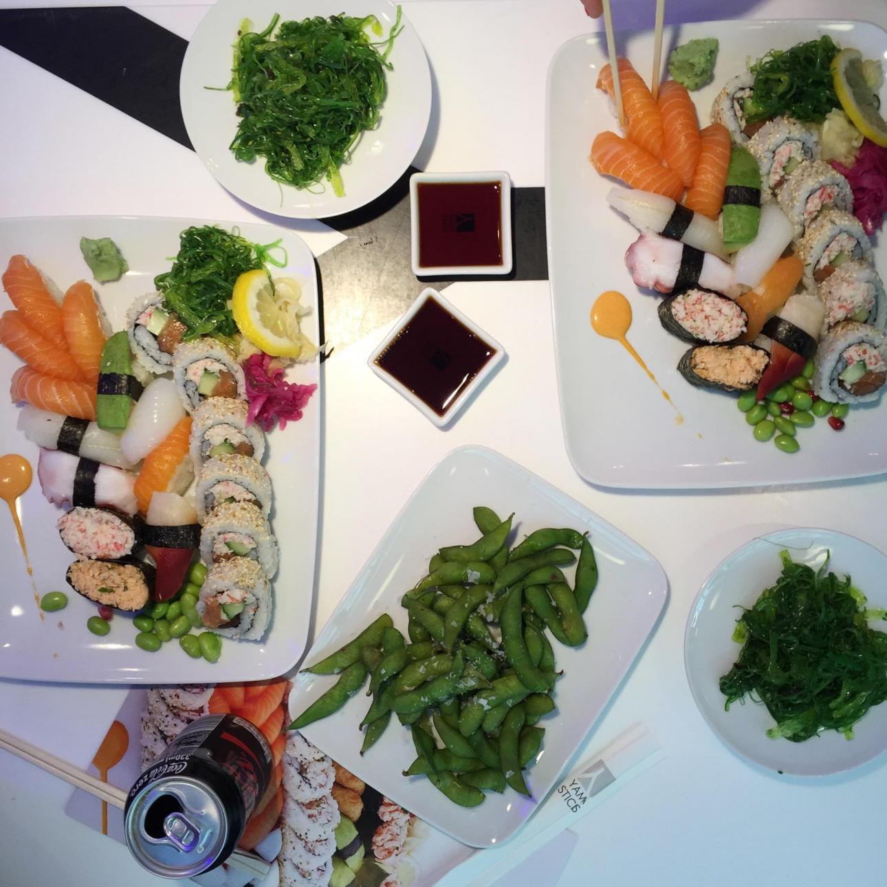 Sushi Yama - masser af sushi til ikke så mange svenske kroner.