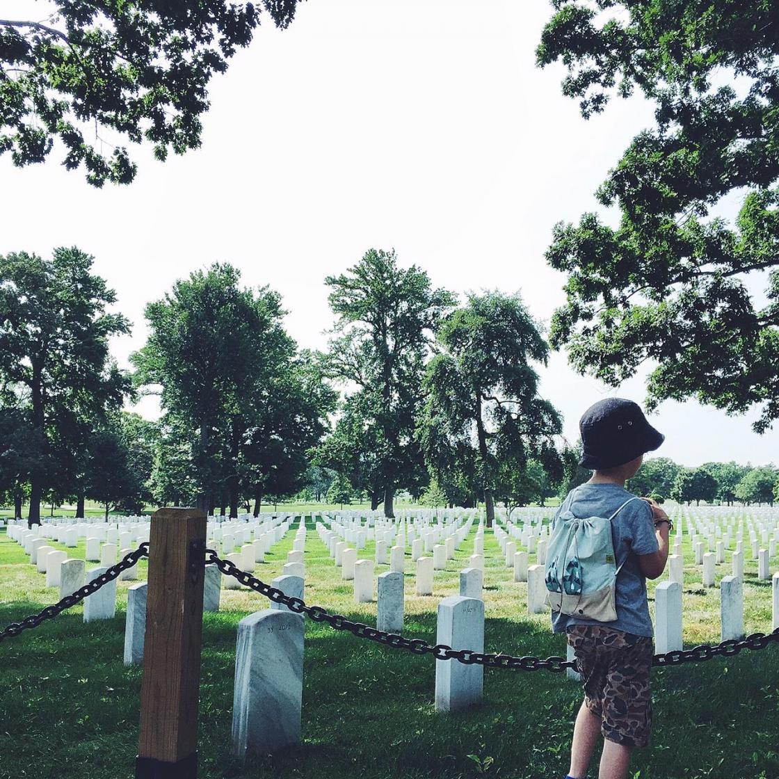 Arlington militærkirkegård er måske ikke det mest børnevenlige sted. Men så har Washington D.C. så meget andet at byde på for en lille utålmodig sjæl.