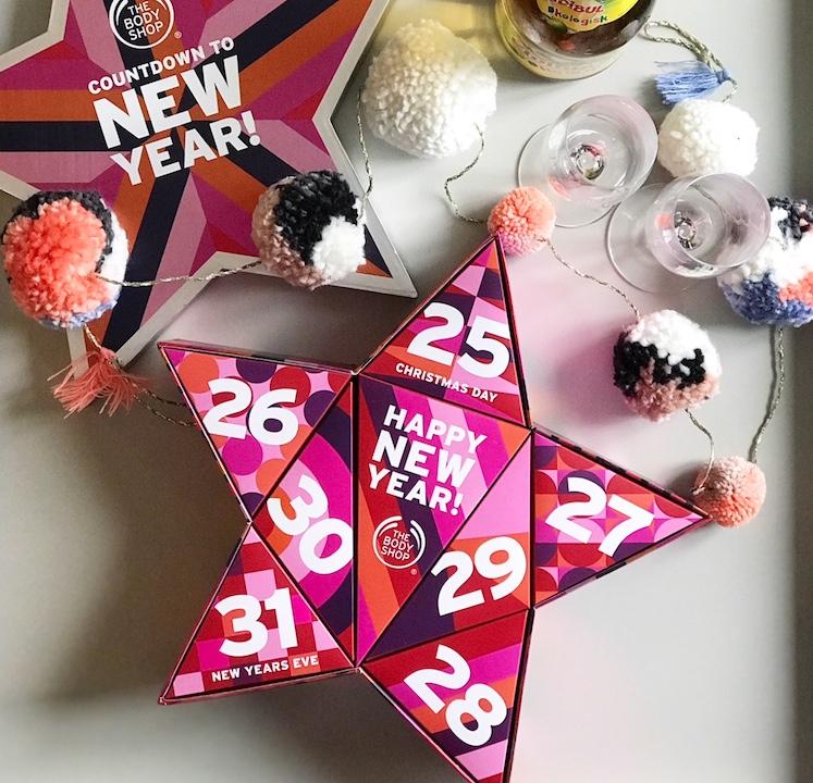 Countdown to new year kalender the body shop julekalender til voksne nytårskalender urbannotes.dk