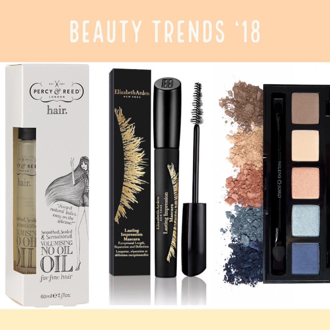 beauty trends 2018 percy & reed mascara elizabeth arden nilens jord øjenskygge urbannotes.dk