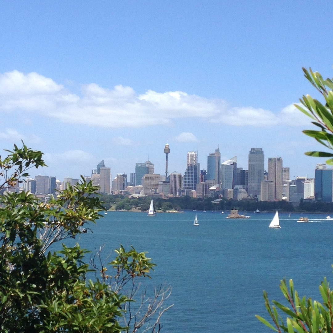 Sydney tower rejseblogger urbannotes.dk