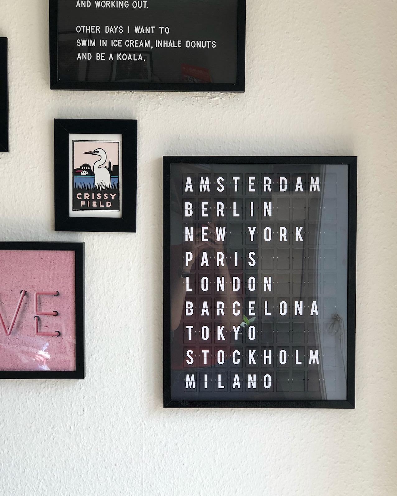 rejse ferie plakat plakater posters hjem desenio rabatkode urbannotes.dk
