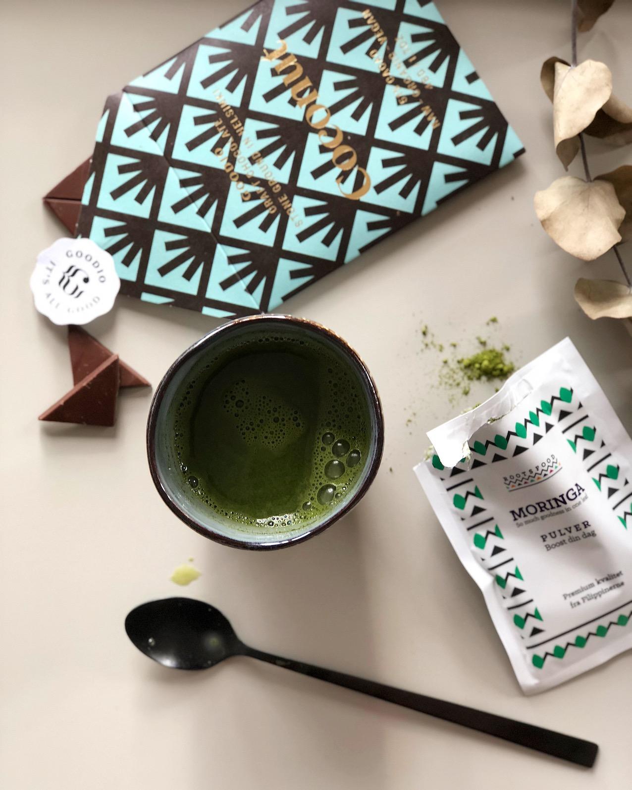 moringa latte superfood latte urbannotes.dk vegansk