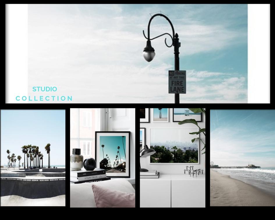 desenio studi collection los angeles venice beach LA plakat urbannotes.dk