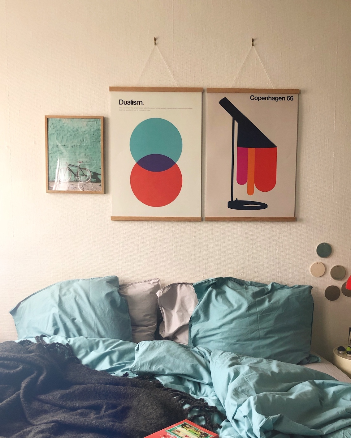 Soveværelse desenio plakater urbannotes.dk