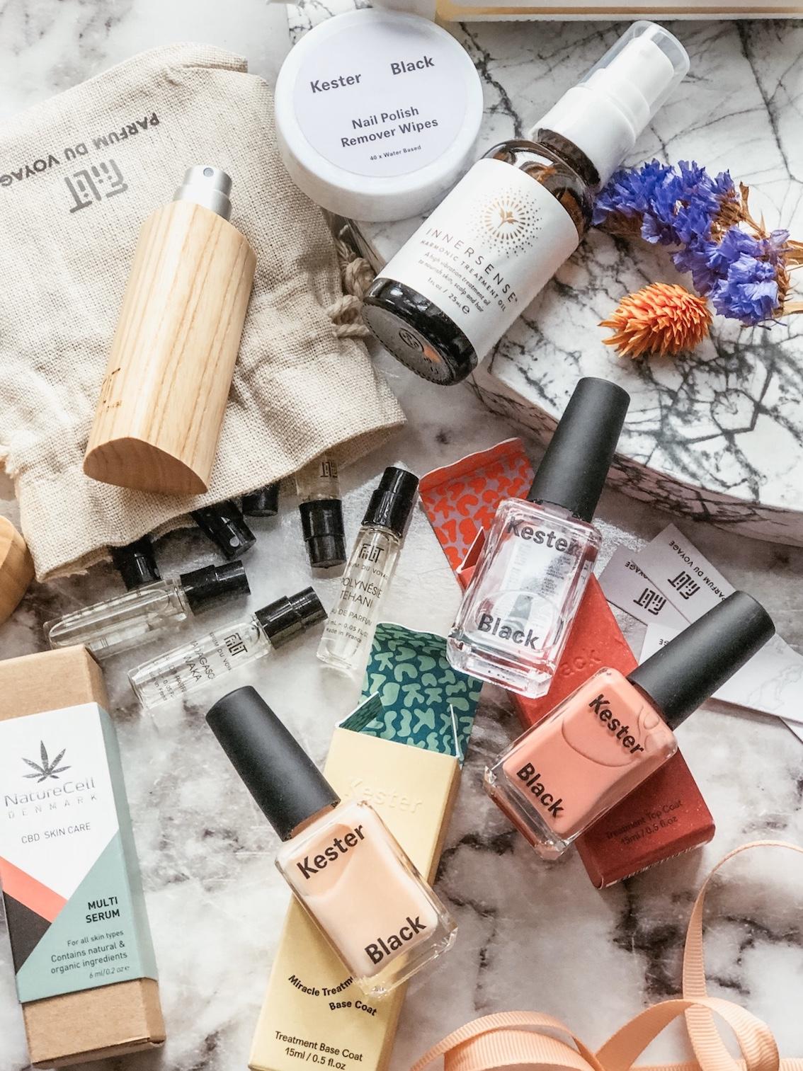 kester black fiilit parfum du voyage innersense Nature Cell CBD skin care urbannotes.dk