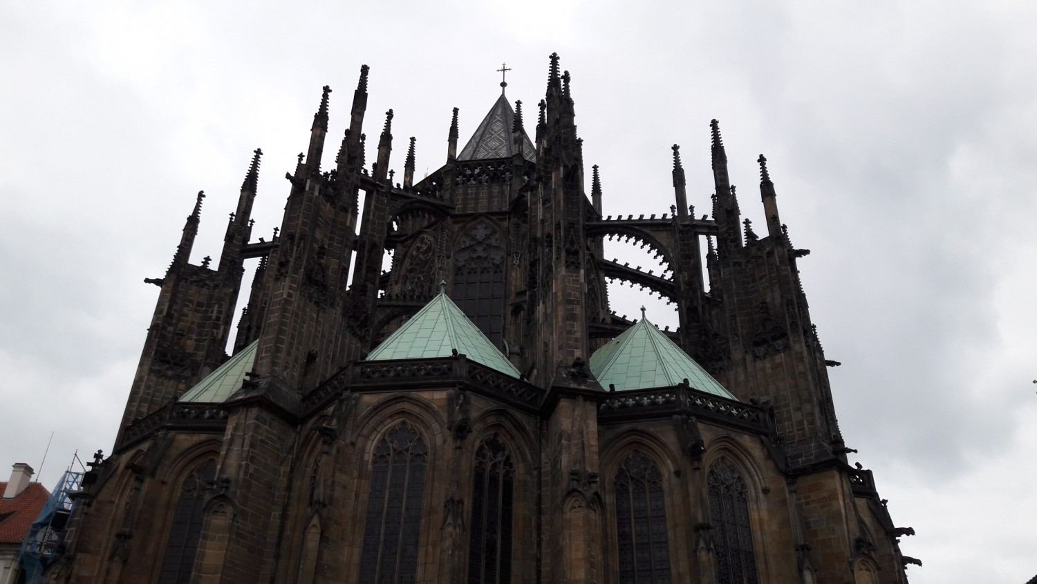 St. Vitus Cathedral in the castle area
