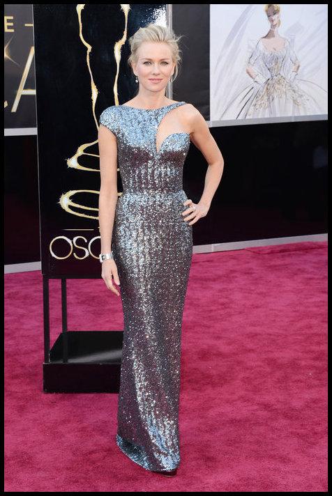 Naomi Watts Dress- Armani Prive