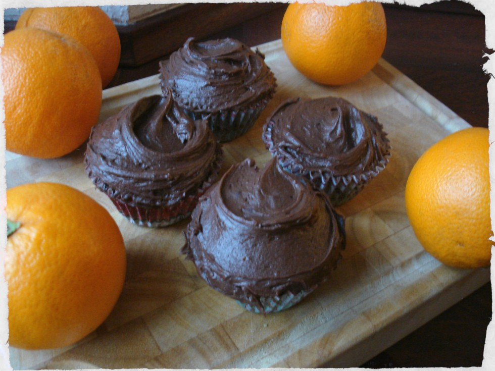 Chocolate and orange cupcakes Hummingbird bakery recipe