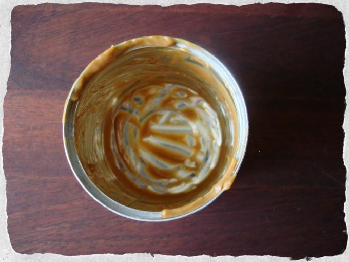 homemade caramel done