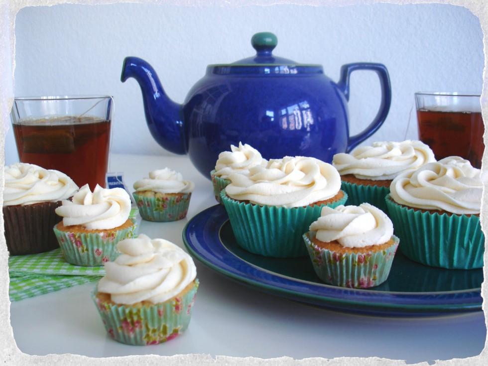 Earl Grey mini cupcakes