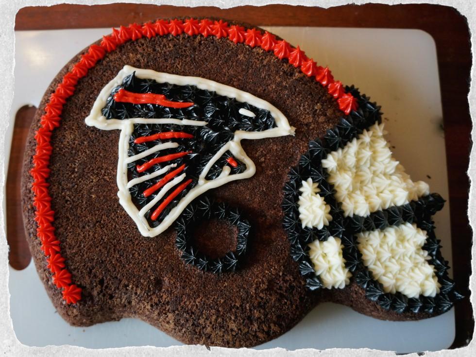 Falcons cake