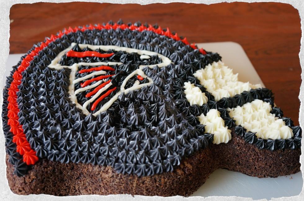 NFL Falcons Cake