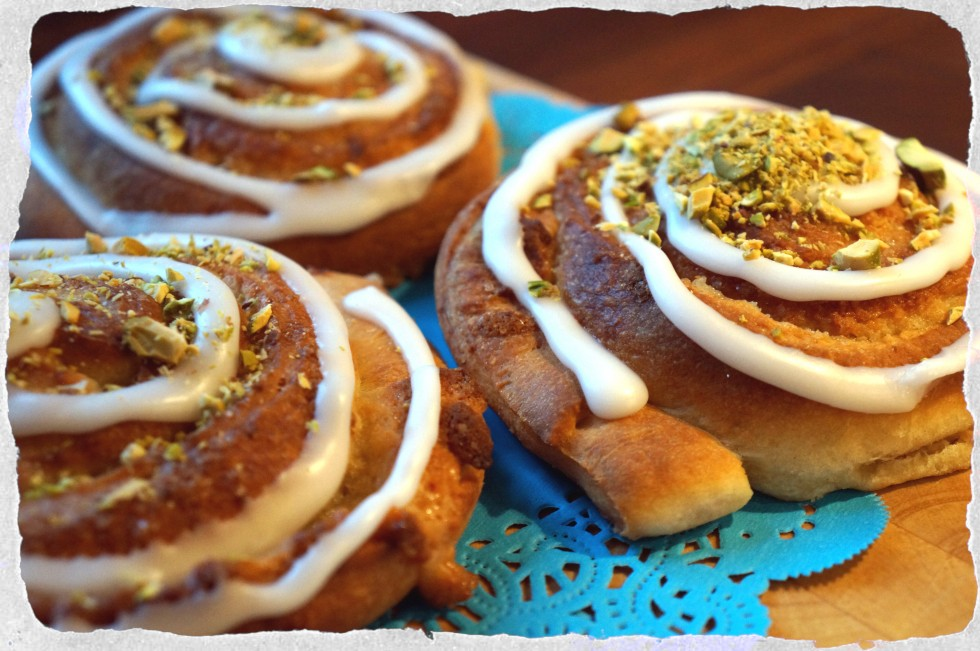 buns with marzipan