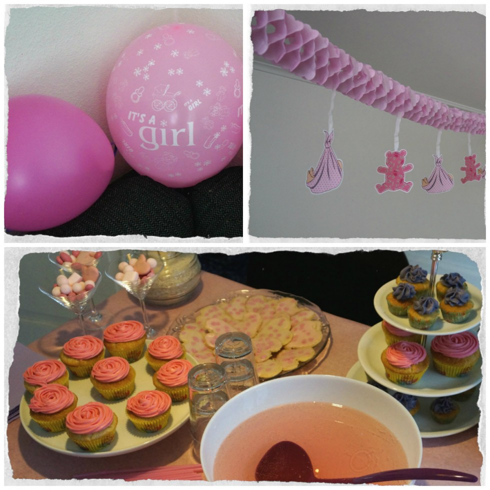 Baby shower collage II
