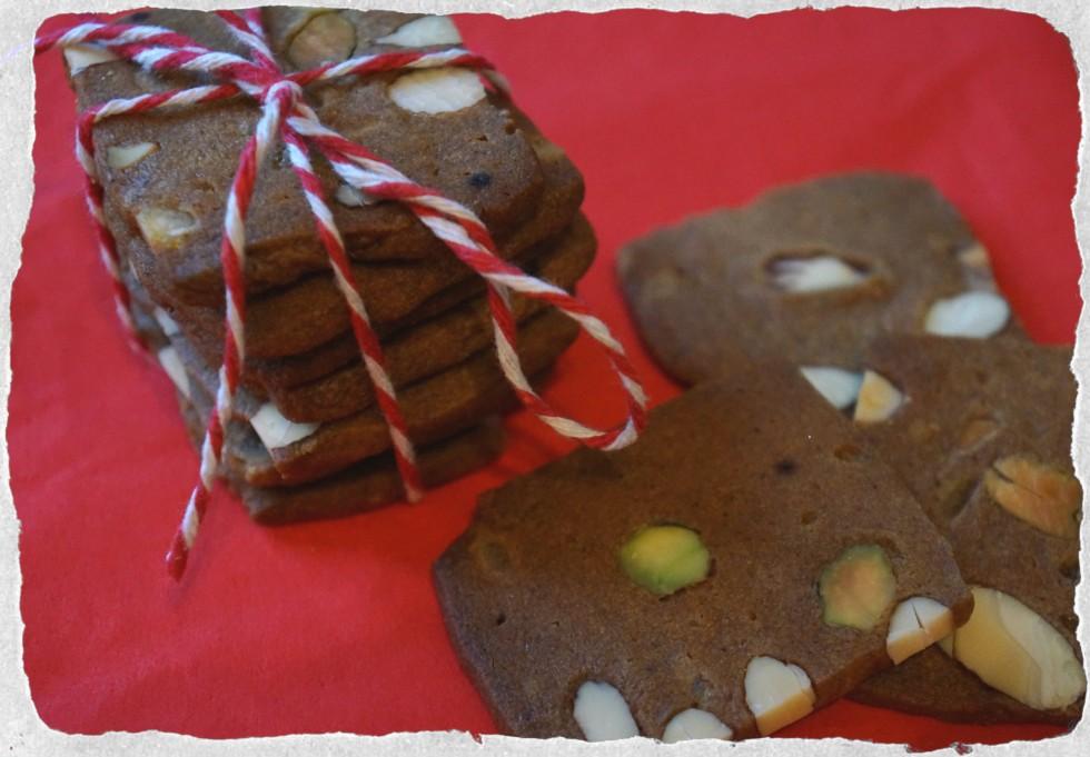 Danish Christmas cookies brunkager