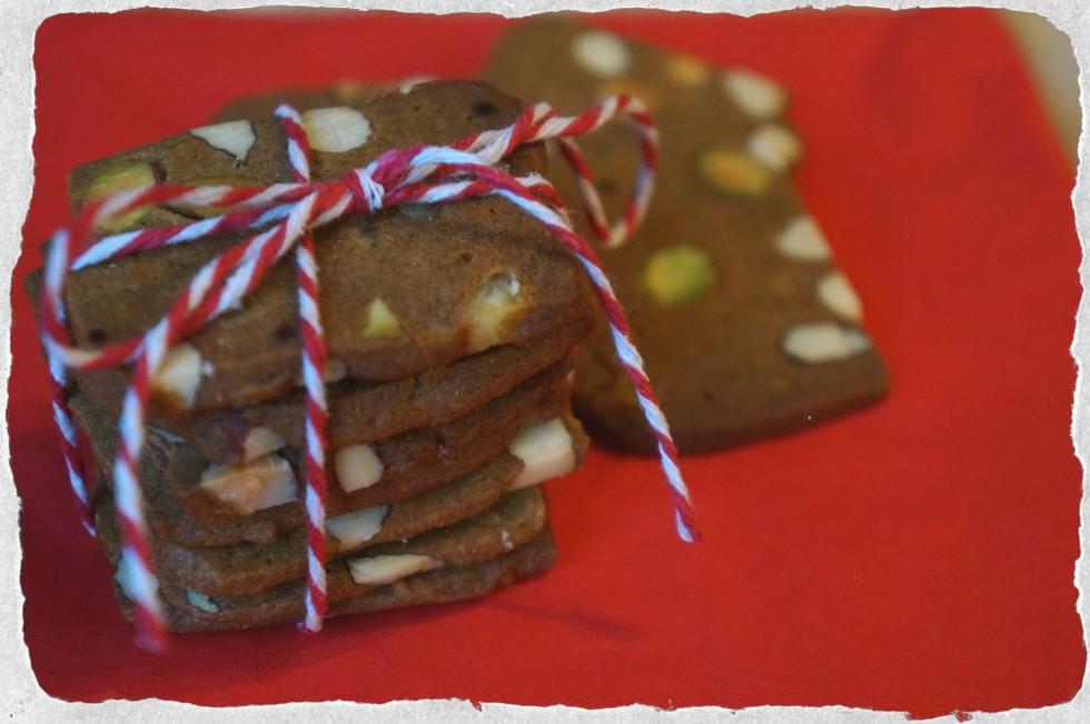 Danish gingerbread brunkager