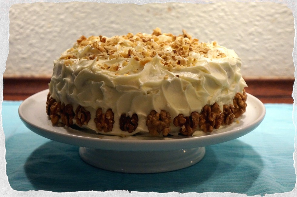 Homemade Carrot cake.