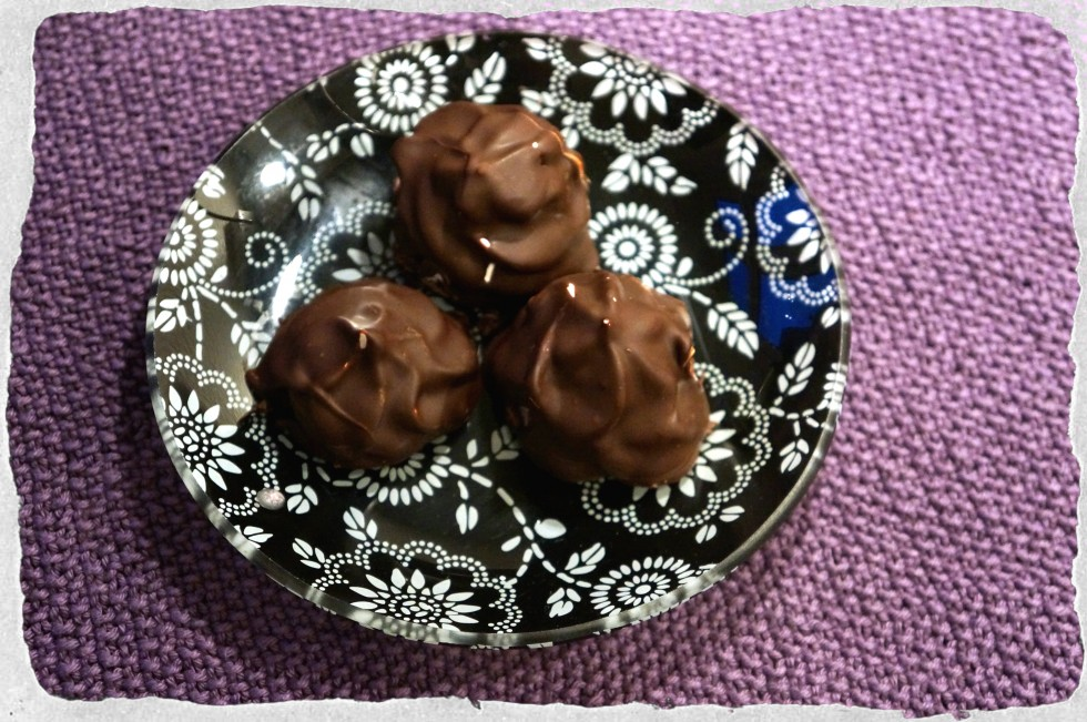 Homemade flødeboller