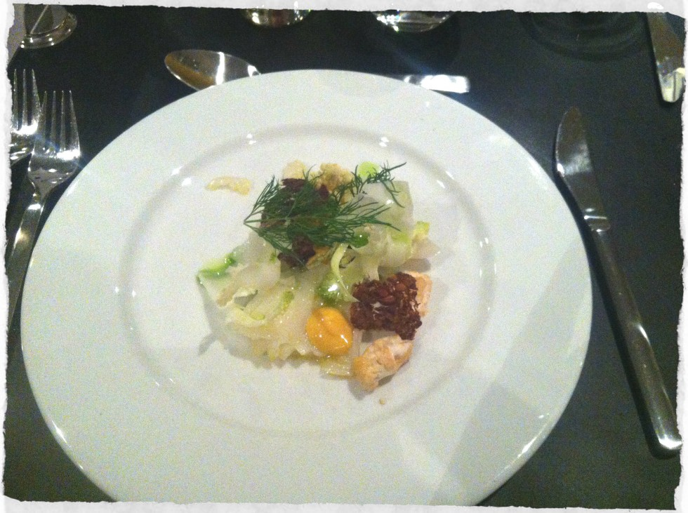 First course Søren K Copenhagen Dining Week