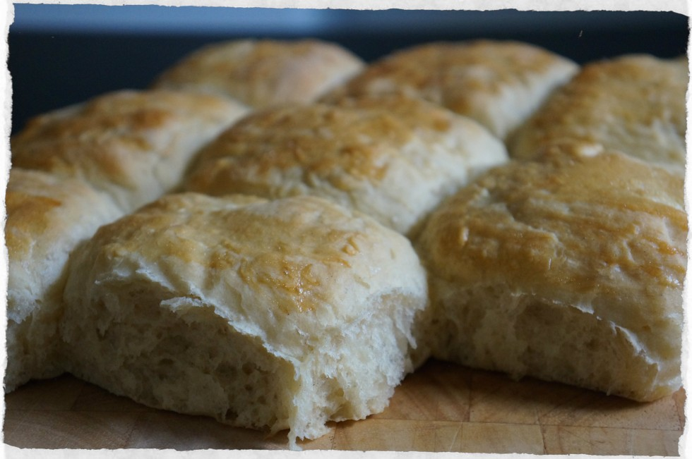 Warm wheat cardamom rolls
