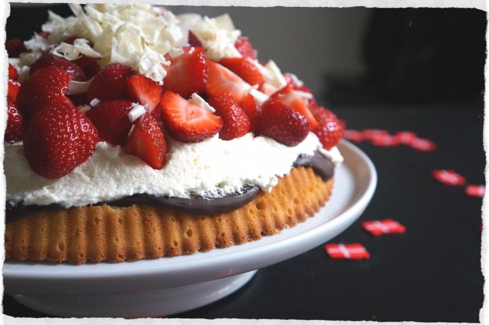 Danish Strawberry pie