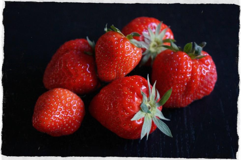 Fresh Danish strawberries