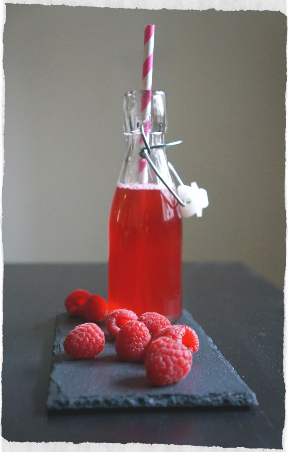 Raspberry juice homemade