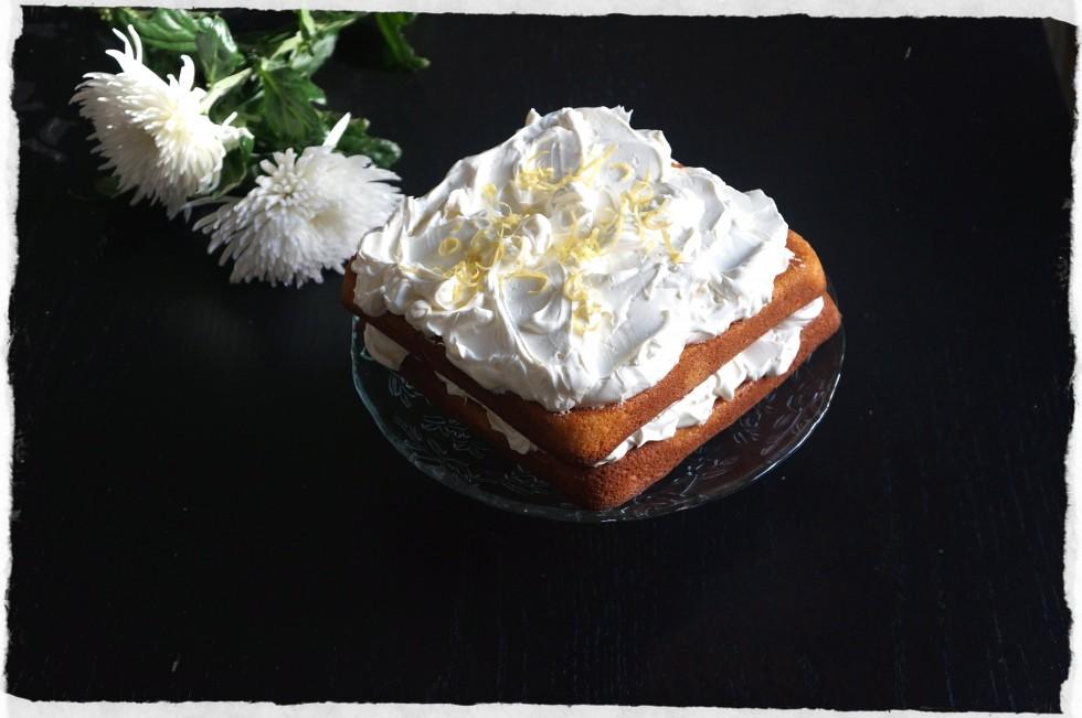 Lemon layered cake