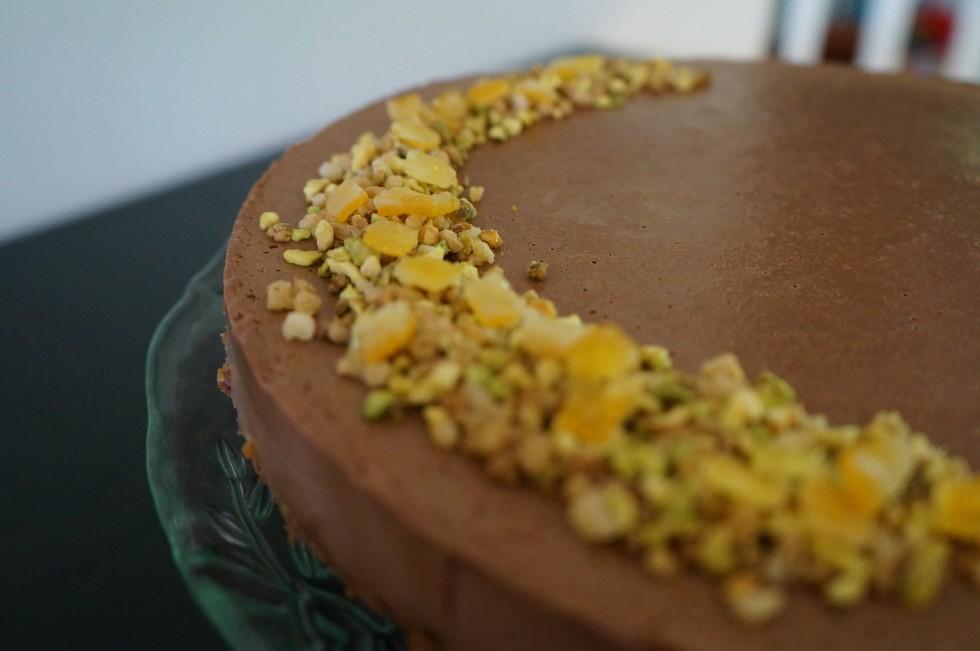 Chocolate and orange cheesecake recipe