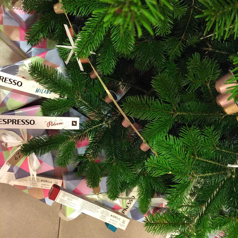 Nespresso Christmas tree