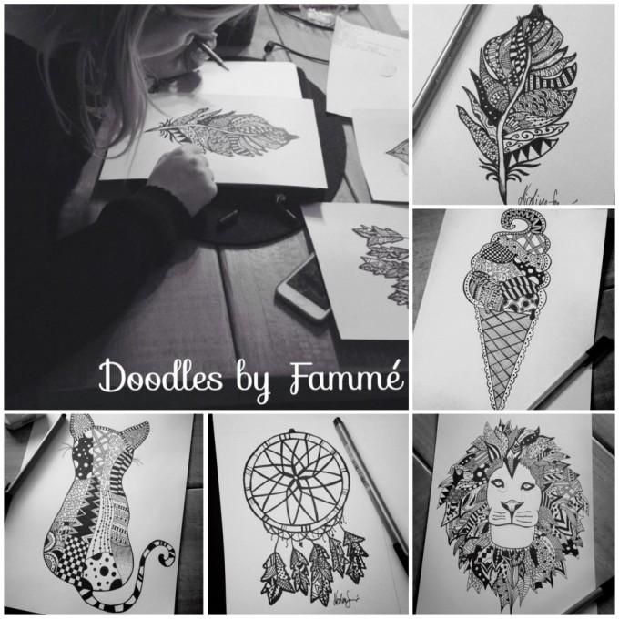 lidt af mine doodles!