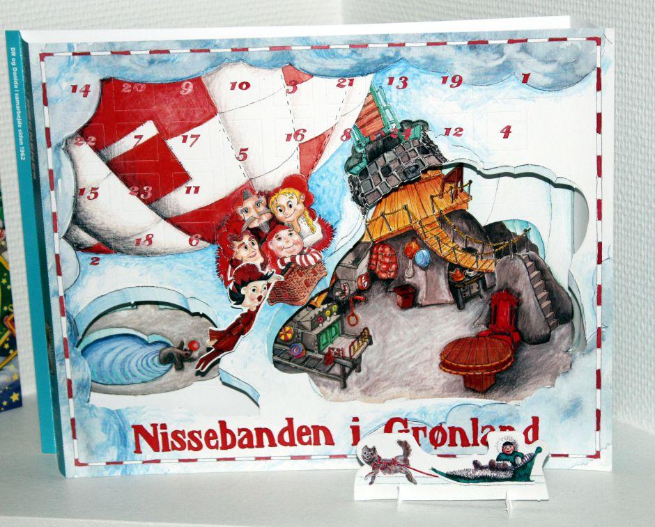 Børnenes U-landskalender med Nissebanden