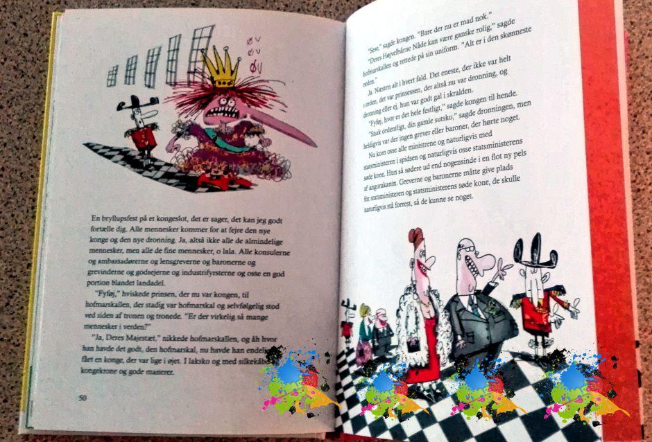 En helt anden historie af Kim Fupz Aakeson med illustrationer af Jørn Villumsen.
