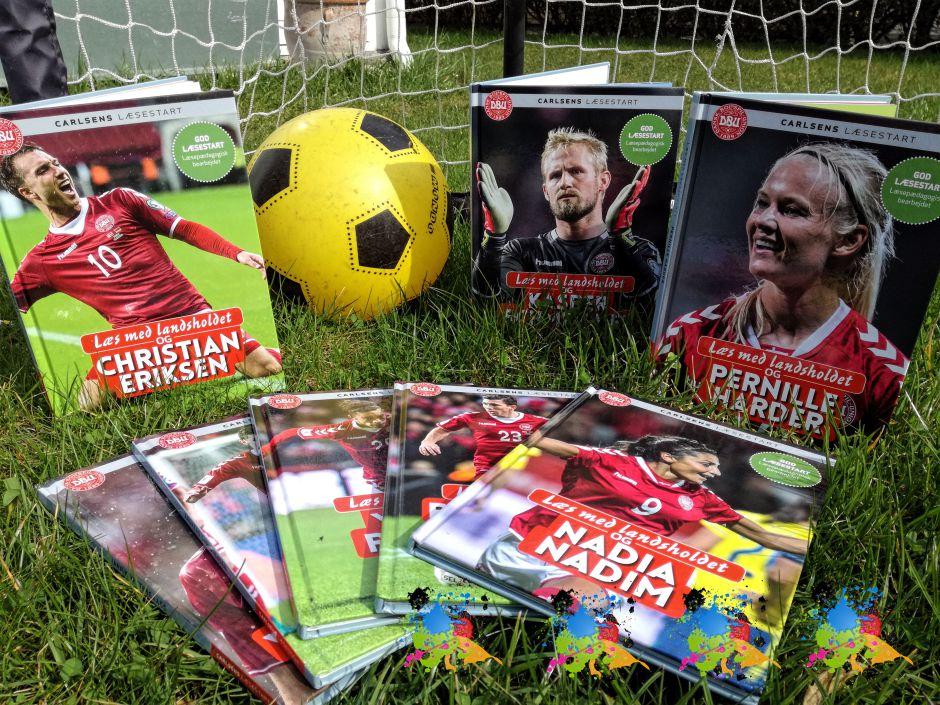Læs med landsholdet af Ole Sønnichsen i serien Carlsens læsestart