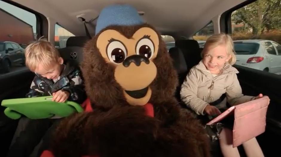 Nu kan børnene tage Rasmus Klump med på bagsædet. Foto: Nordisk Film