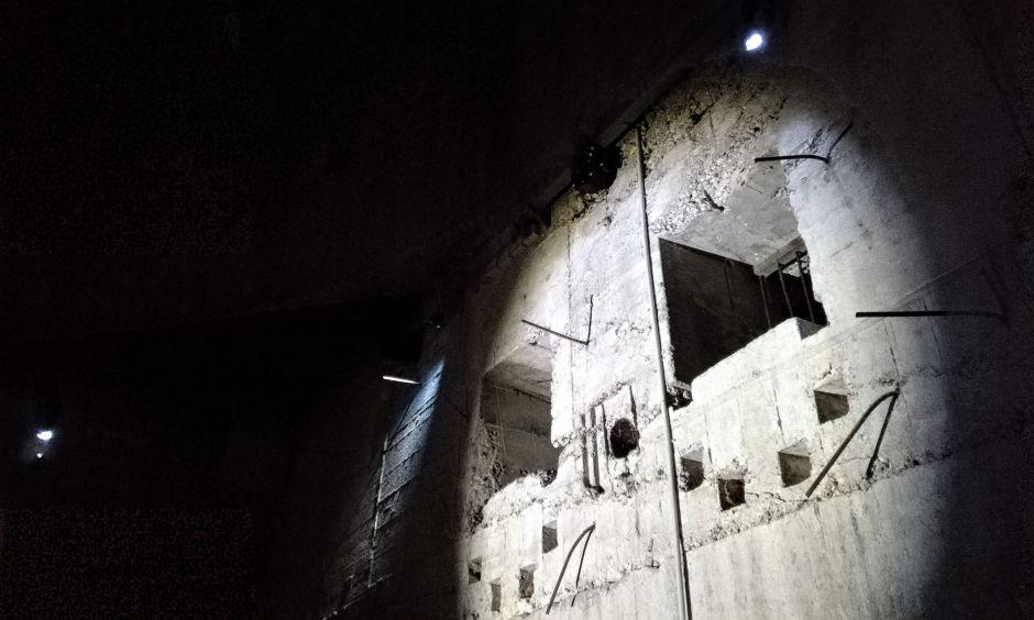 Den flotte bunker giver en absolut unik mulighed for at forstå, hvor stort et arbejde det var, at klargøre bunkeren til kampe.