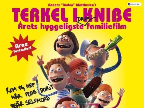 Terkel, Arne og Onkel Steward. Foto: Nordisk film
