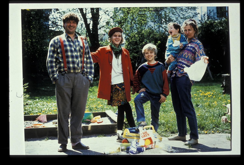 Familien Krumborg. Foto: Nordisk Film