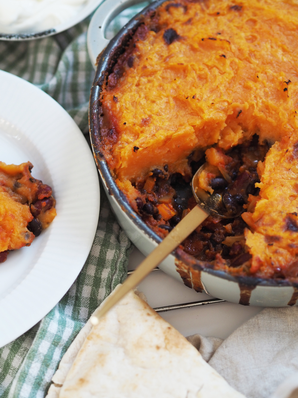 Vegetarisk Shepards pie