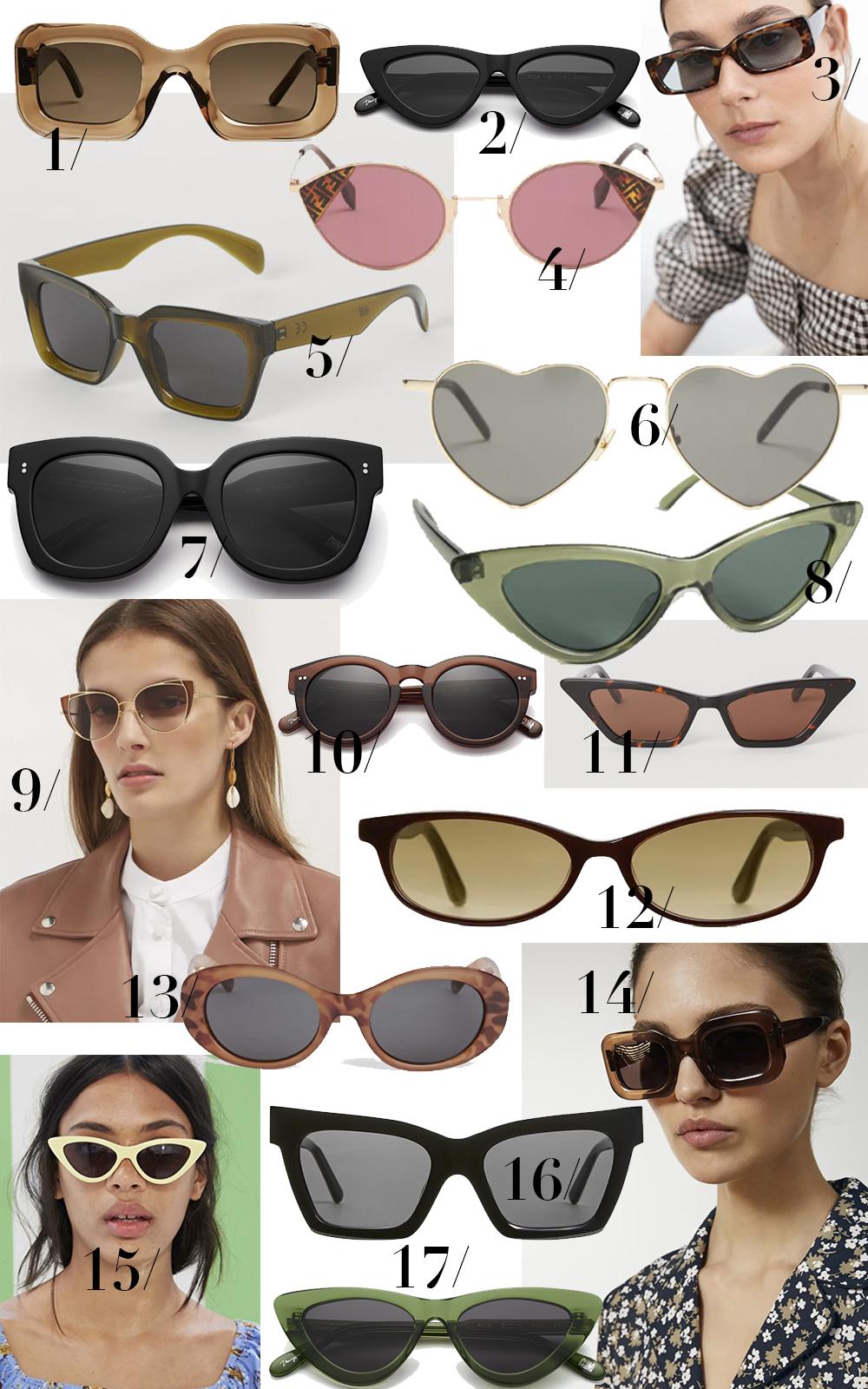 Flotte solbriller